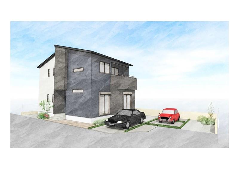 7号地モデルハウス:間取り図
