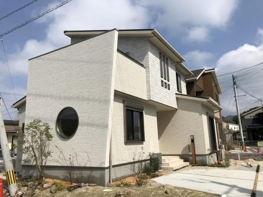 野中町Ⅲ⑩号地モデルハウス外観