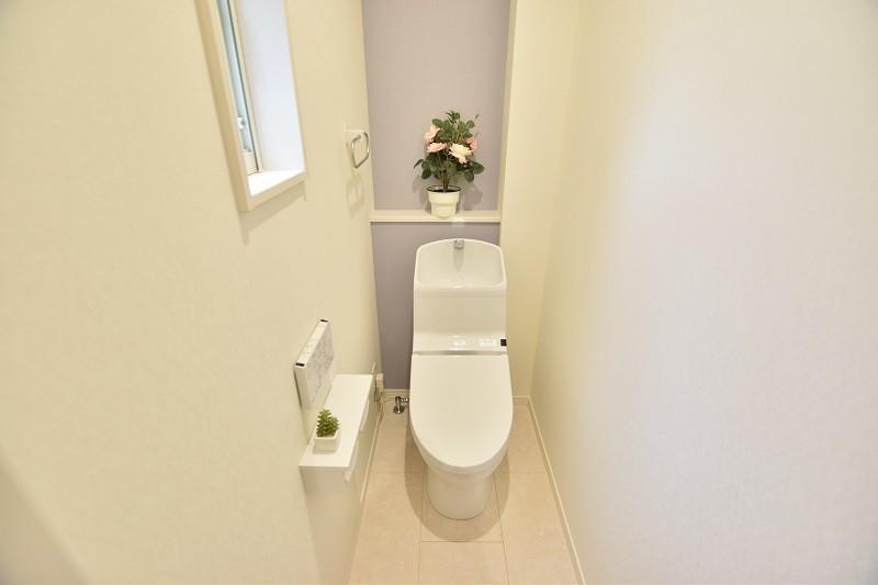 8号地:1Fトイレ