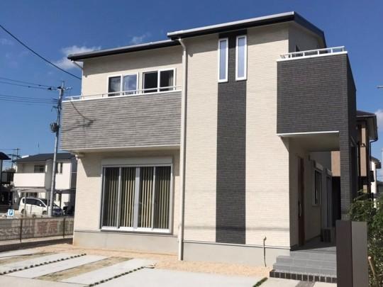 福岡県久留米市 新築一戸建て トレステージ西鉄津福駅前10号地外観