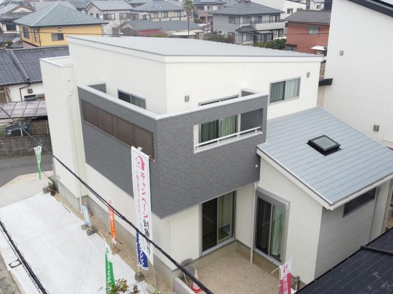 1号地モデルハウス:外観