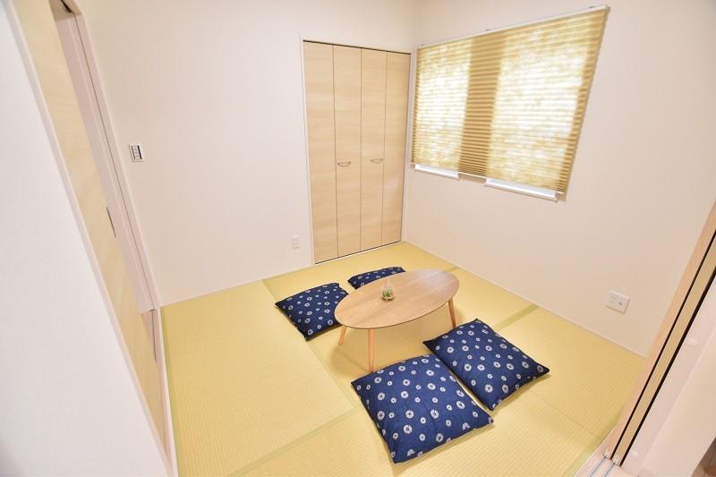 トレステージ白水ヶ丘2丁目1号地モデルハウス:和室