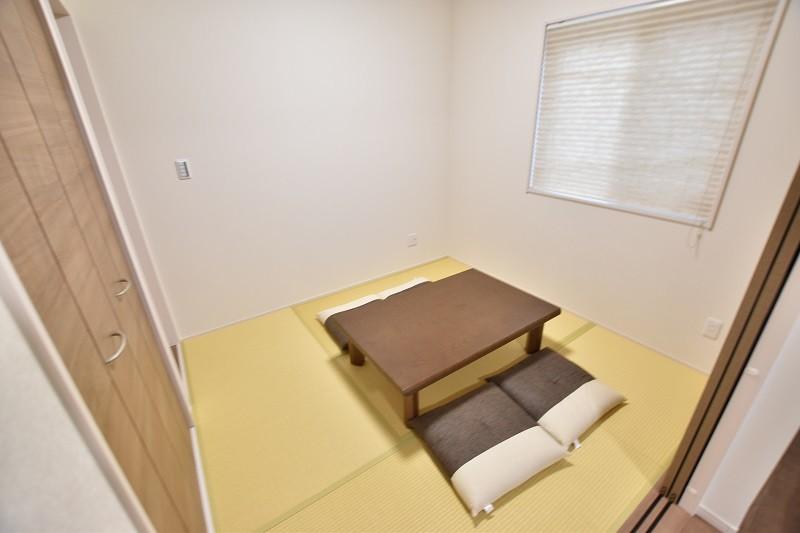 和トレステージ白水ヶ丘2丁目4号地モデルハウス:和室