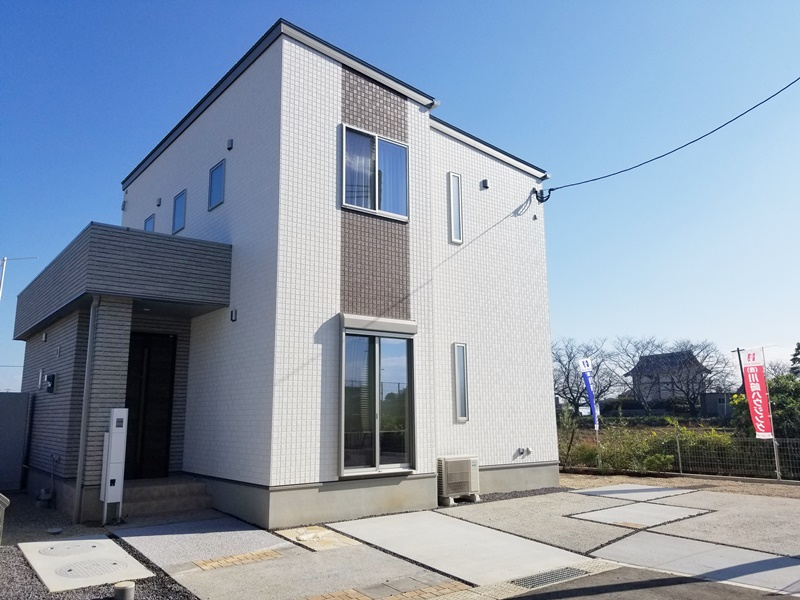 2号地モデルハウス:外観