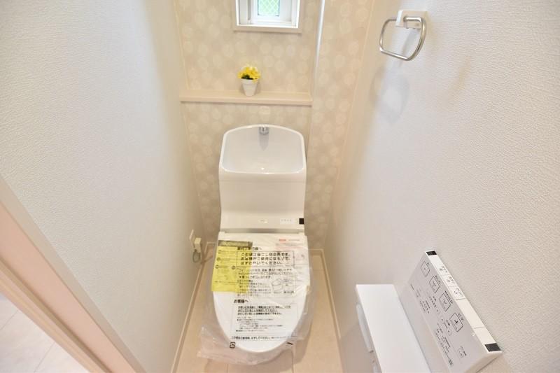 トイレ 1階・2階ともにウォシュレット付き節水トイレ