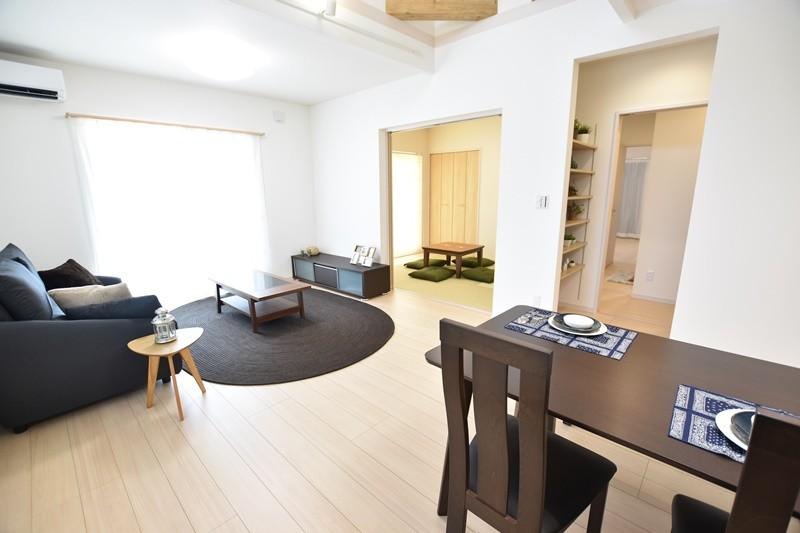 4号地:和室が続き間になっており部屋を広く見せることが出来ます。