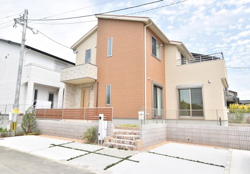 トレステージ広川中南Ⅱ 1号地モデルハウス:外観