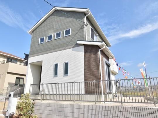 トレステージ広川中南Ⅱ3号地モデルハウス:外観