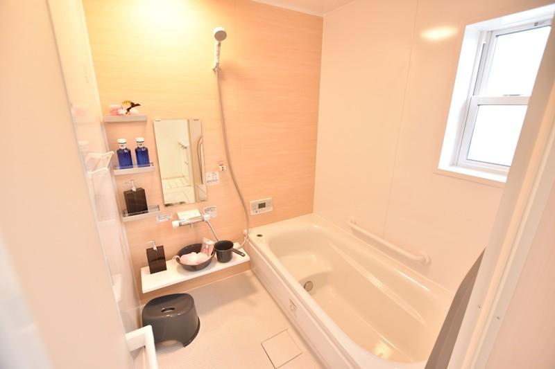 朝倉郡筑前町 新築一戸建て 4号地モデルハウス:浴室