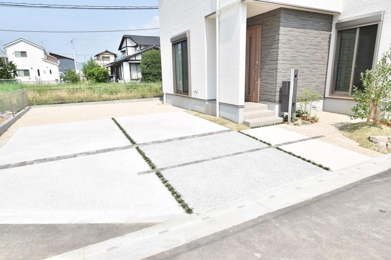 4号地:駐車スペース