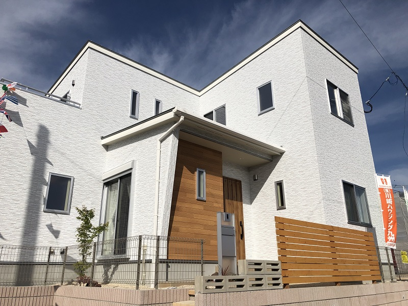 朝倉郡筑前町 新築一戸建て 4号地モデルハウス:外観