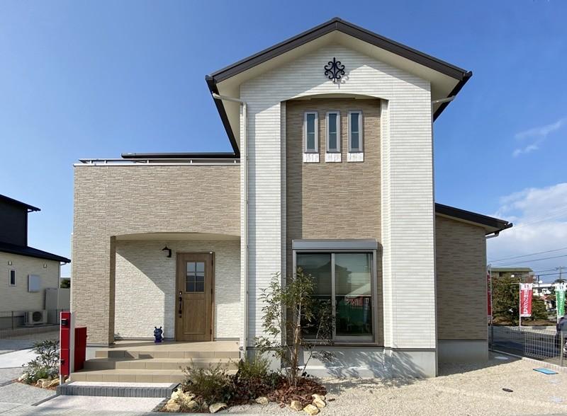 久留米市上津町 新築一戸建て 2号地モデルハウス:外観