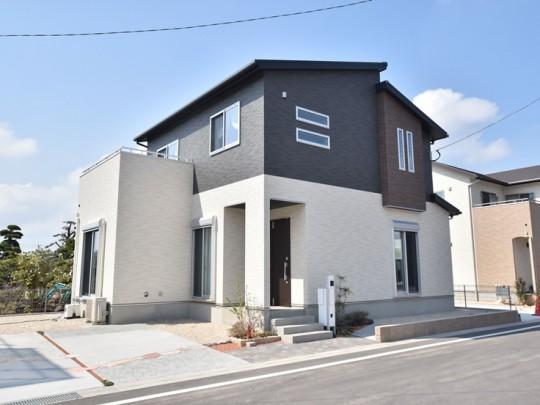 久留米市上津町 新築一戸建て 3号地モデルハウス:外観