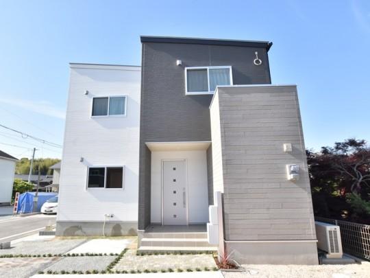 久留米市上津町 新築一戸建て 4号地モデルハウス:外観