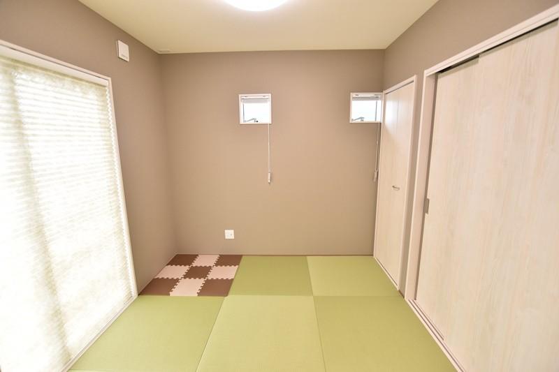 1号地モデルハウス:和室