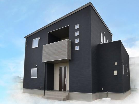 三潴小学校前4号地モデルハウス:外観