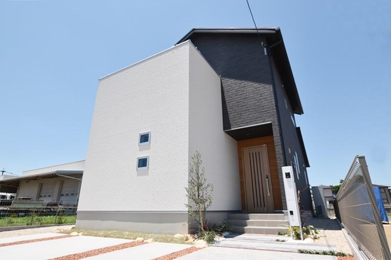 久留米市大石町 新築一戸建て 3号地モデルハウス:外観
