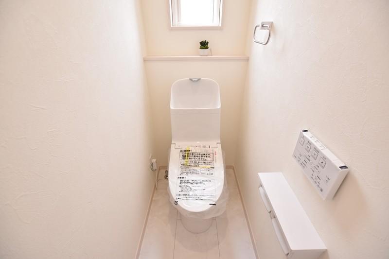 トレステージ善導寺小南7号地モデルハウス:トイレ