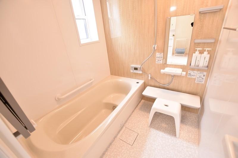 トレステージ善導寺小南7号地モデルハウス:浴室