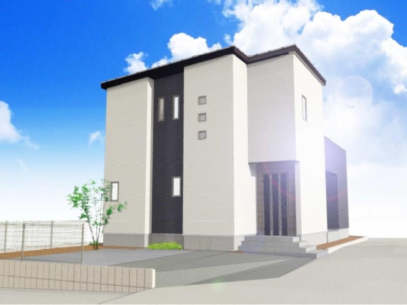 9号地モデルハウス:完成予想パース