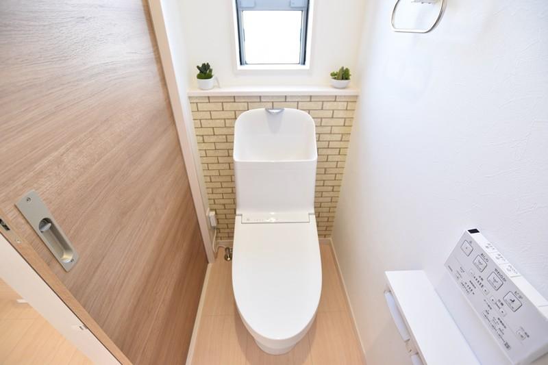 2号地モデルハウス:トイレ