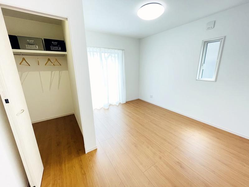 3号地:7帖の主寝室はウォークインクローゼット付き!