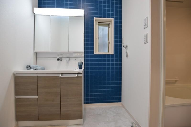 3号地モデルハウス:洗面脱衣室