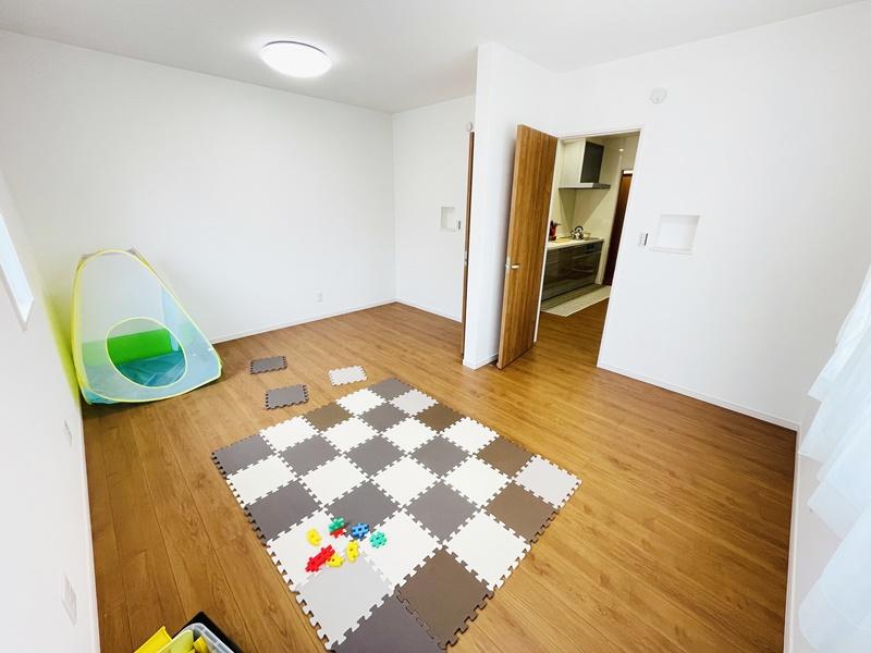 3号地:2ドア1ルーム!2部屋にわけて使うこともできます。