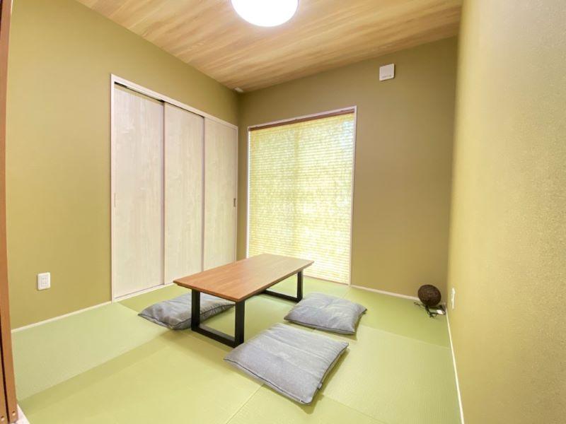 6号地モデルハウス:和室