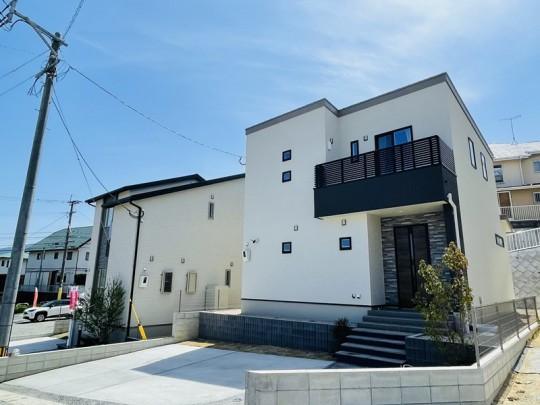 6号地モデルハウス:外観