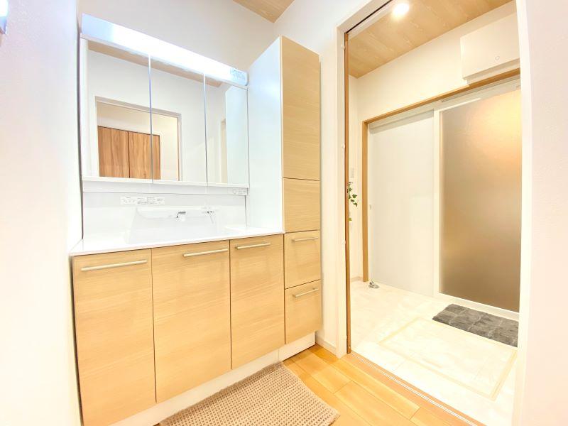 7号地:洗面室・脱衣室