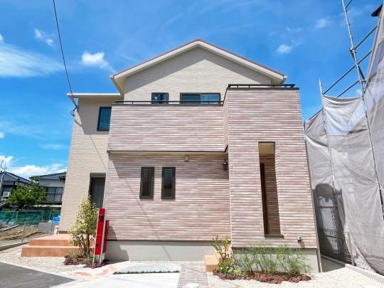 7号地モデルハウス:外観