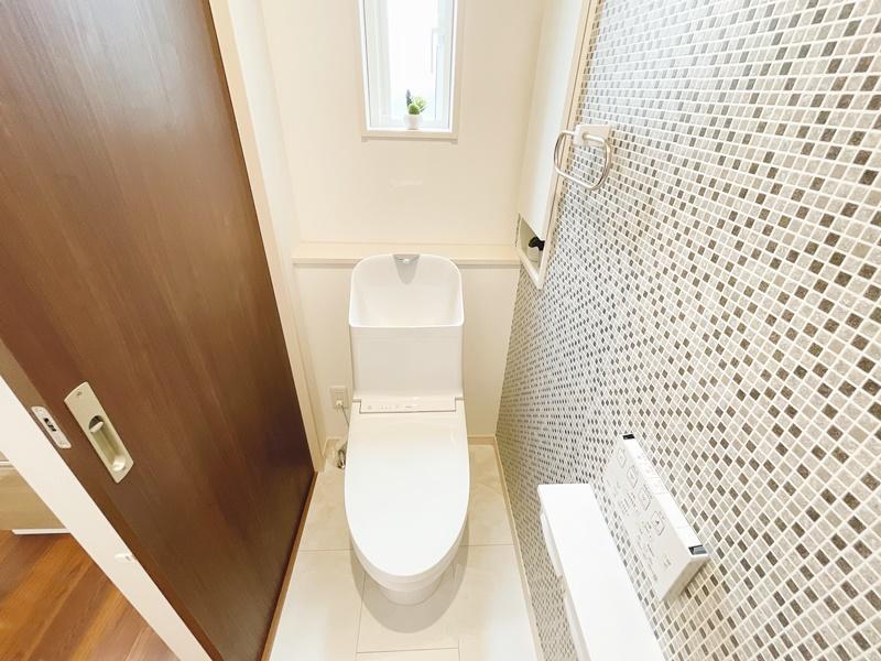 [久留米市 新築一戸建て]5号地(平屋)モデルハウス:トイレ