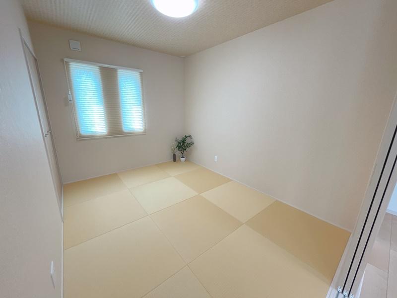 [久留米市 新築一戸建て]6号地モデルハウス:和室