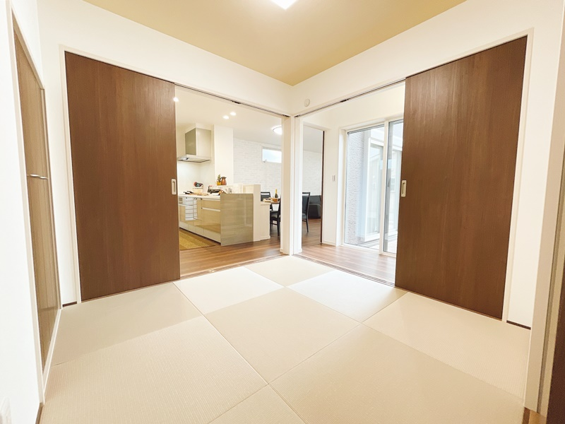 [久留米市 新築一戸建て]5号地(平屋)モデルハウス:和室