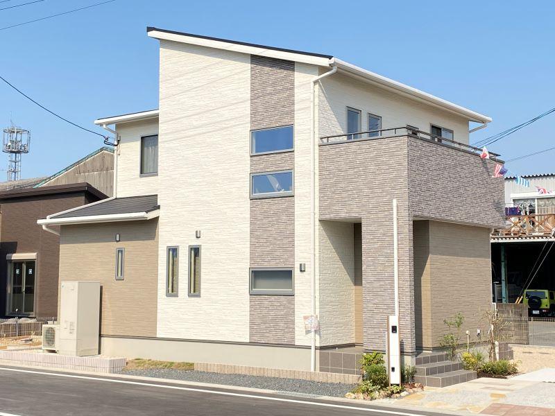 [久留米市 新築一戸建て]6号地モデルハウス:外観