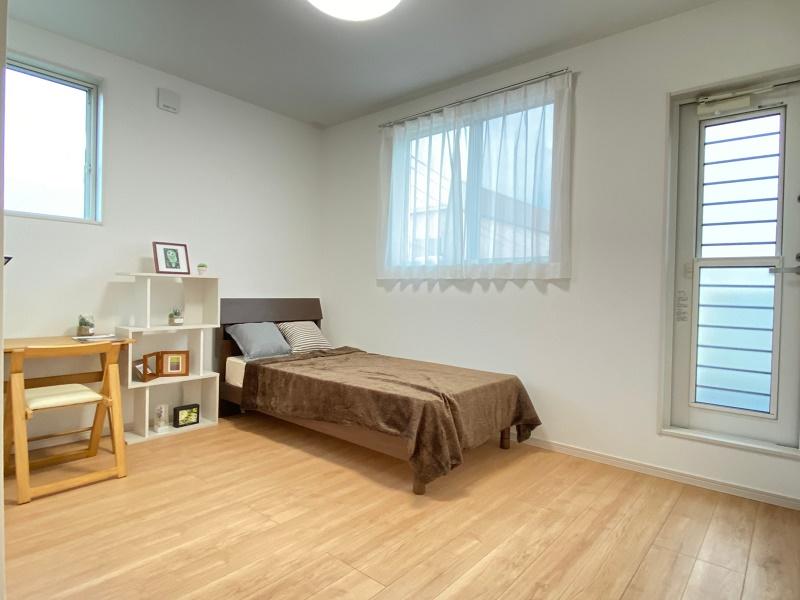 [久留米市 新築一戸建て]6号地モデルハウス:寝室