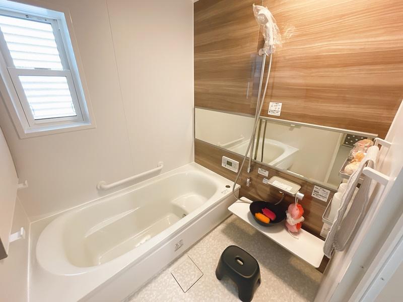 [久留米市 新築一戸建て]5号地(平屋)モデルハウス:浴室