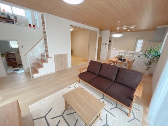 [久留米市 新築一戸建て]6号地モデルハウス:LDK