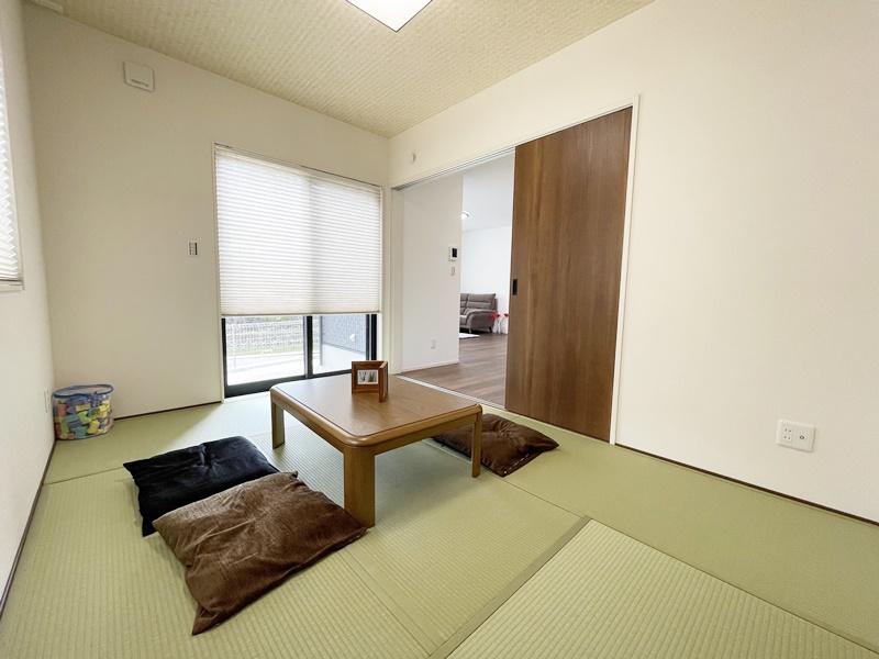 [筑後市 新築一戸建て]4号地モデルハウス:和室