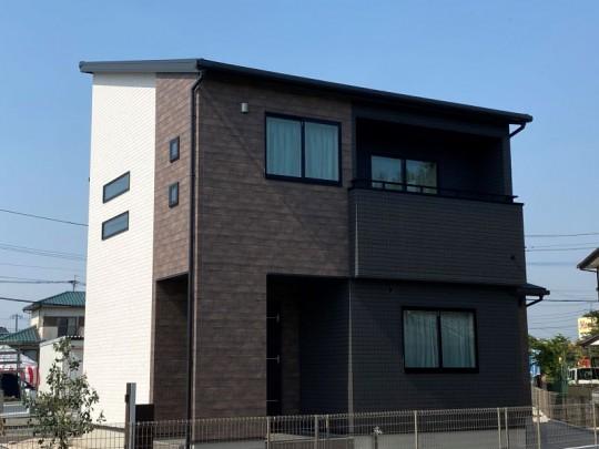 筑後市 新築一戸建て]4号地モデルハウス:外観
