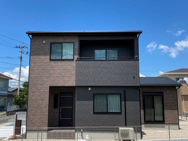 [筑後市 新築一戸建て]4号地モデルハウス:外観