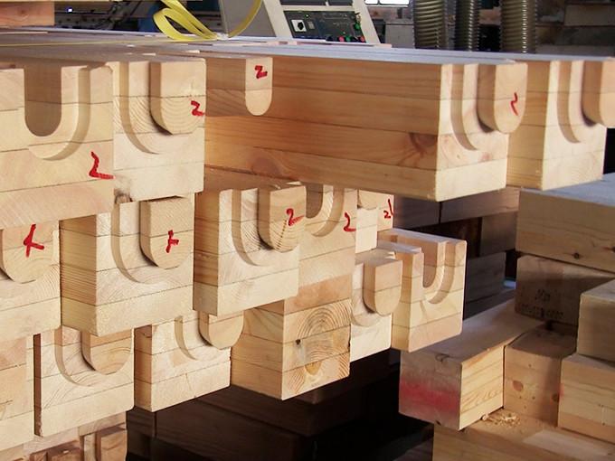 川﨑ハウジング熊本で使用している木材の画像