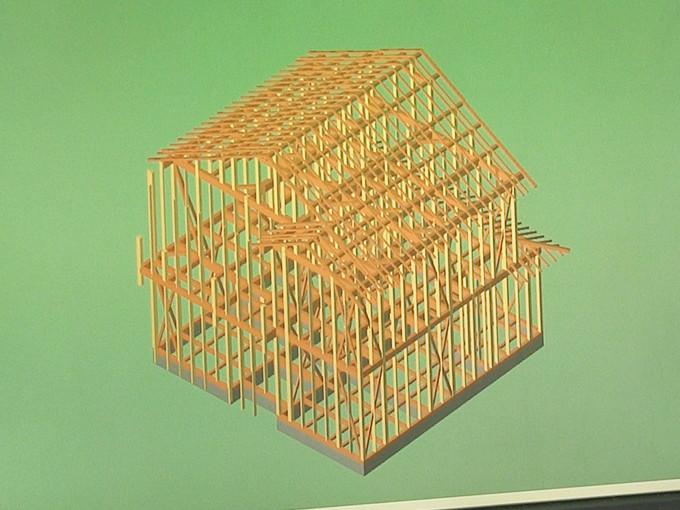 特殊加工で強度を増した集成材で新築一戸建ての家の強度を格段に向上