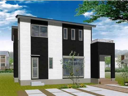 熊本県熊本市北区兎谷1丁目 新築一戸建て 5号地モデルハウスイメージパース
