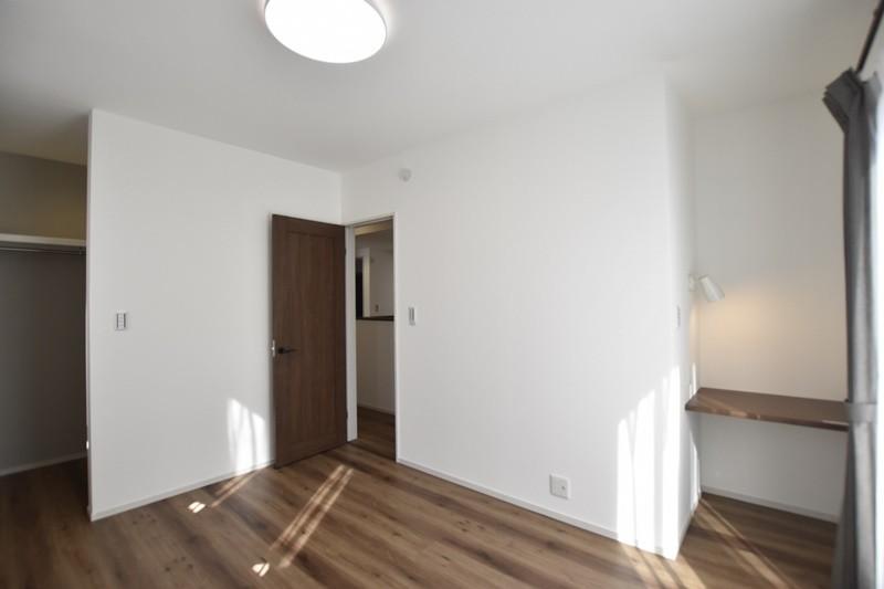 熊本県熊本市北区兎谷1丁目 新築一戸建て 5号地モデルハウス・主寝室
