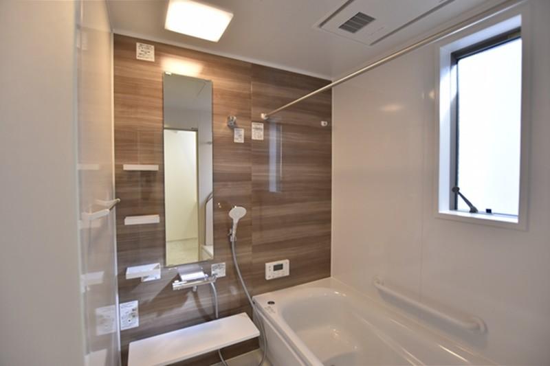 熊本県熊本市北区兎谷1丁目 新築一戸建て 5号地モデルハウス・浴室
