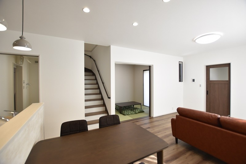 熊本県熊本市北区兎谷1丁目 新築一戸建て 5号地モデルハウス・家族が集まるLDK