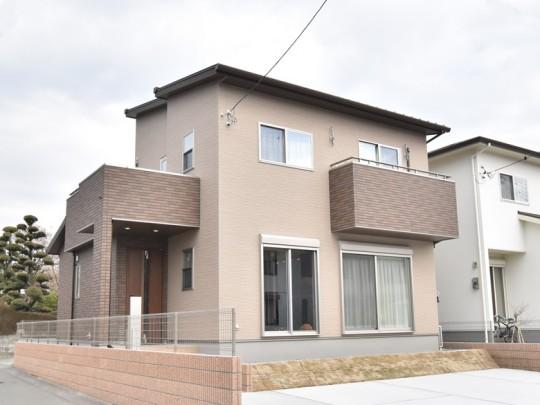 1号地モデルハウス・外観