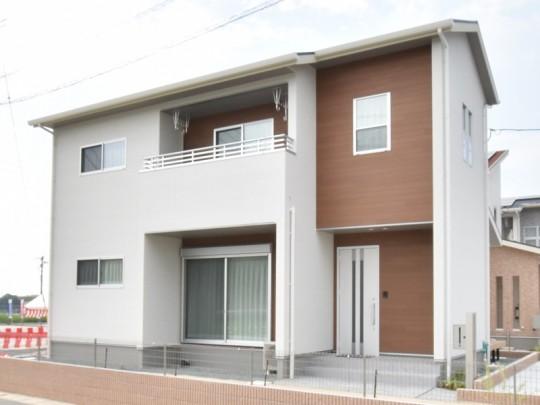 熊本市北区楡木6丁目 新築一戸建て 1号地モデルハウス外観